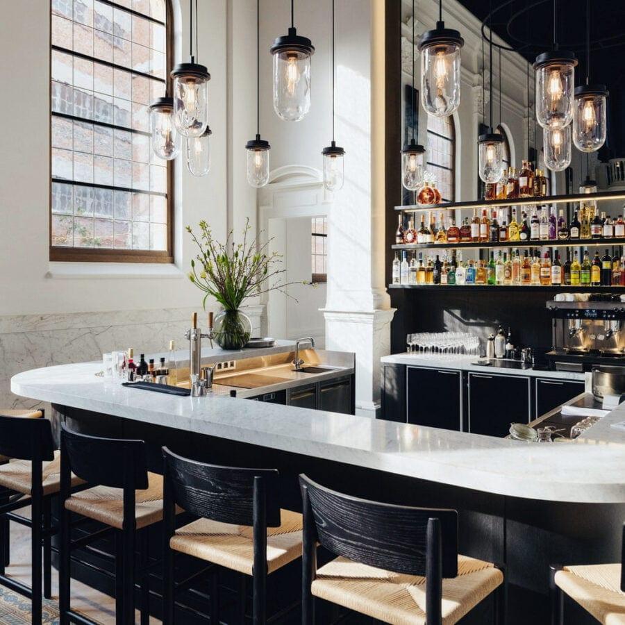 Bar de l'hôtel August à Anvers