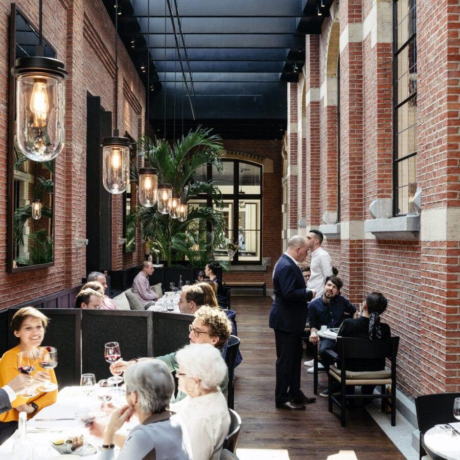 Restaurant de l'hôtel August à Anvers
