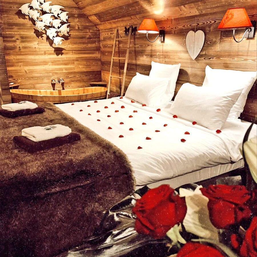 Nuit romantique à l'Aqua Lodge près de Namur