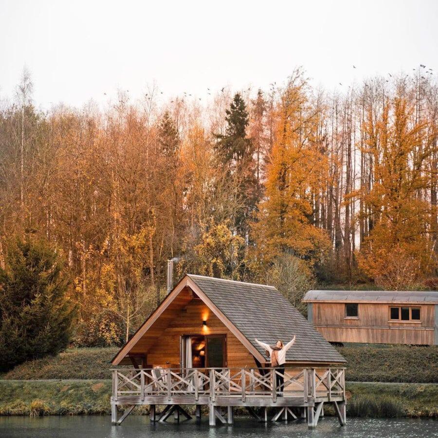 Nuit insolite à l'Aqua Lodge près de Namur