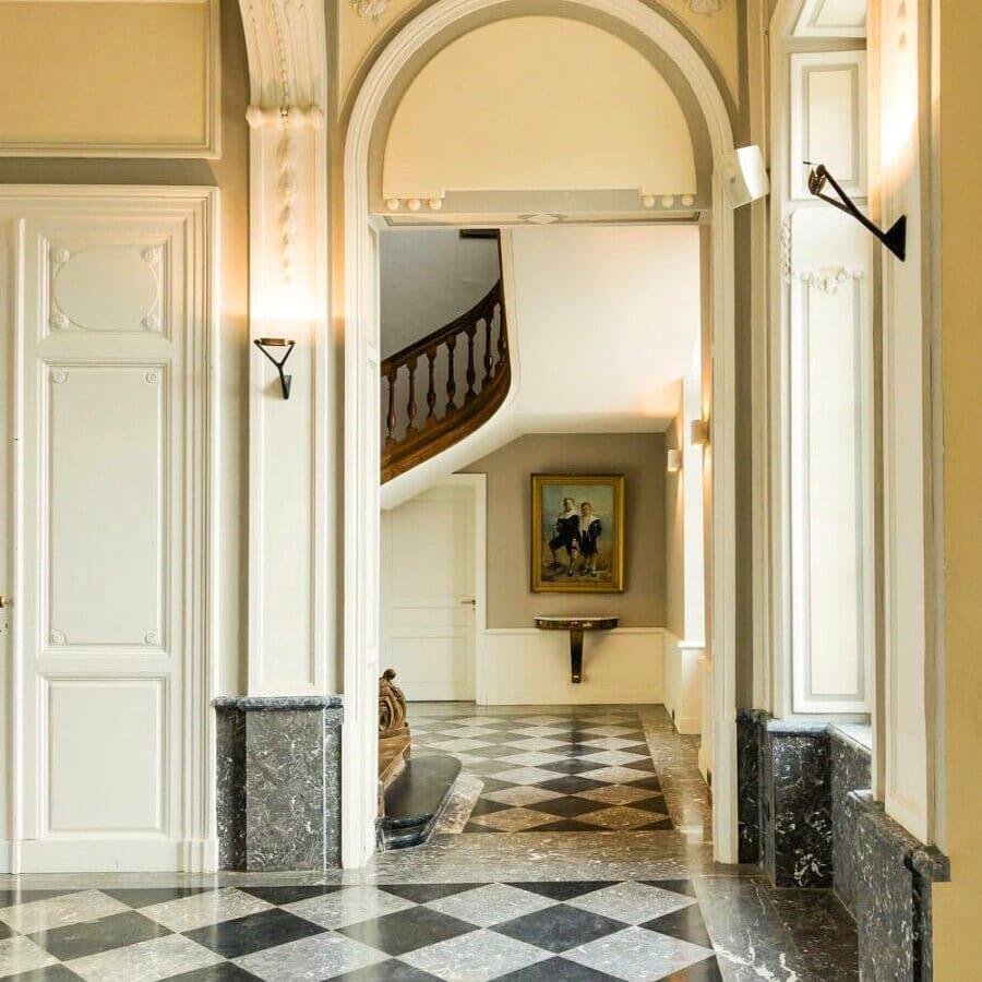 Couloirs du Château Bayard à Namur