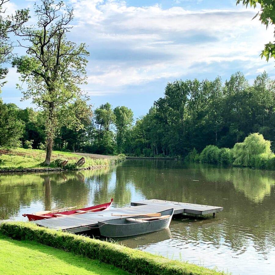 Barques au Château Bayard à Namur