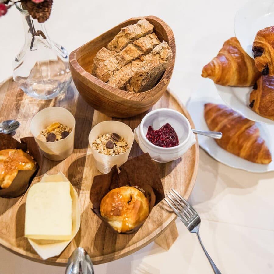 Petit déjeuner au Château Bayard à Namur