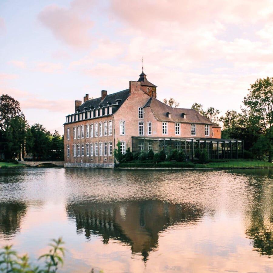 L'aube au Château Bayard à Namur
