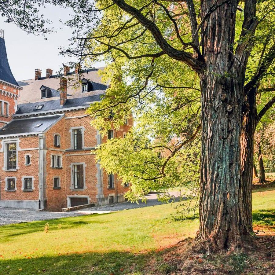Château Beausaint et son jardin à La Roche