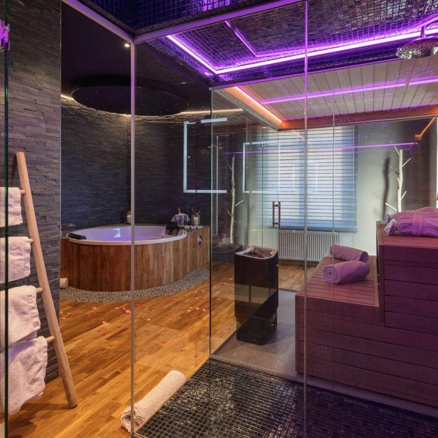 clos des thermes sauna