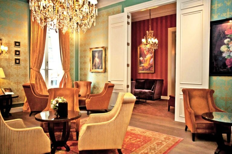 Salons au Grand Hôtel Casselbergh à Bruges