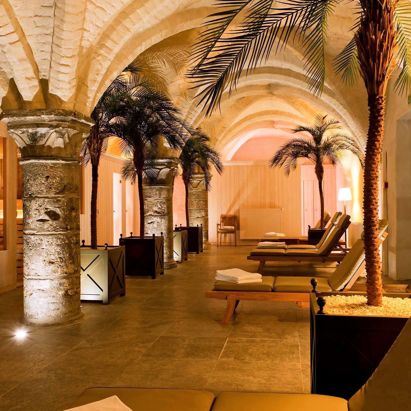 Spa dans les caves souterraines au Grand Hôtel Casselbergh à Bruges