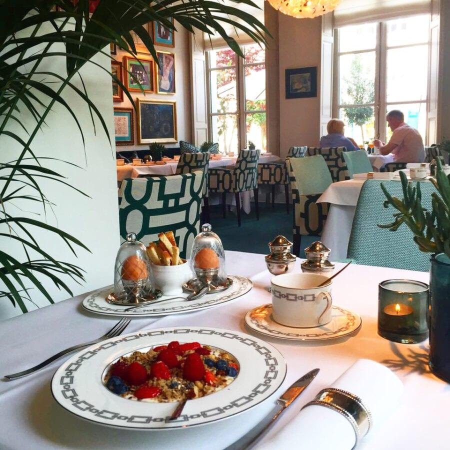 Lunch à l'hôtel Van Cleef à Bruges