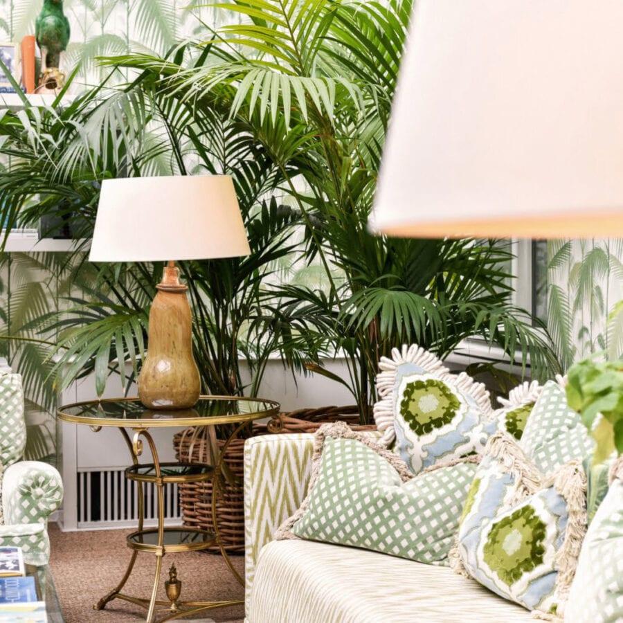 Salon vert de l'hôtel Van Cleef à Bruges