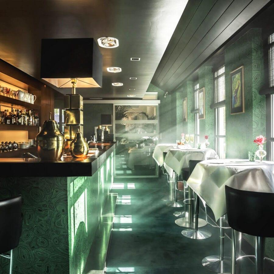 Bar de l'hôtel Van Cleef à Bruges