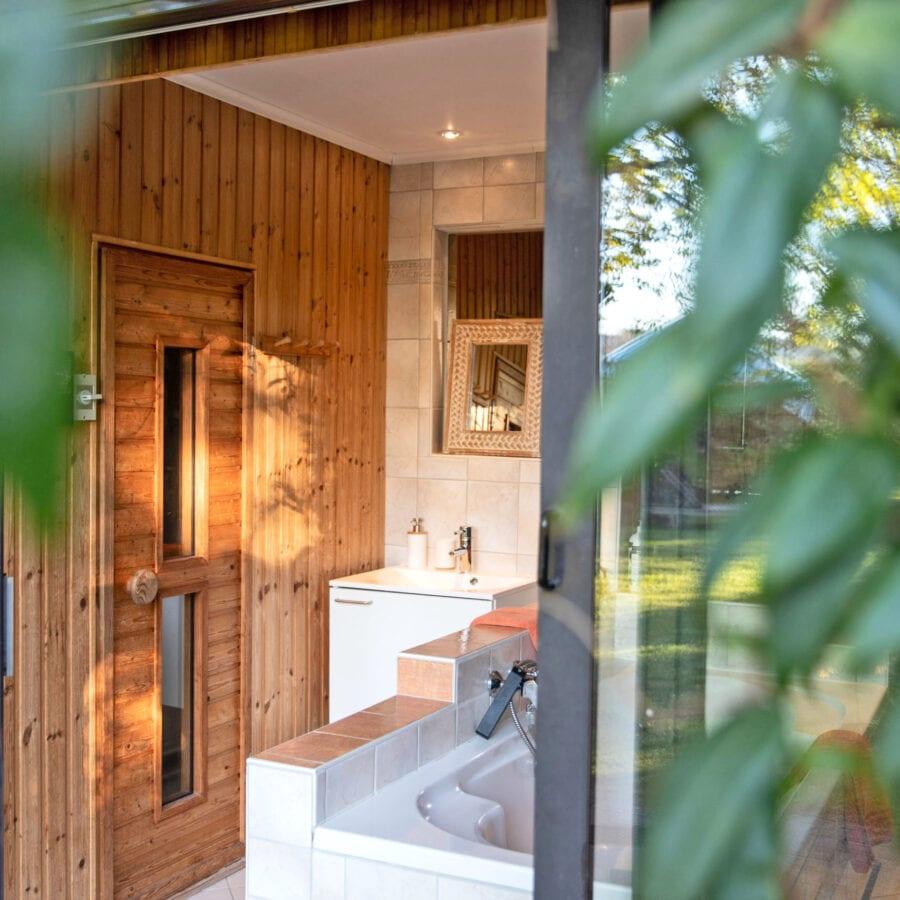 Salle de bain au Chant des Étoiles près de Spa