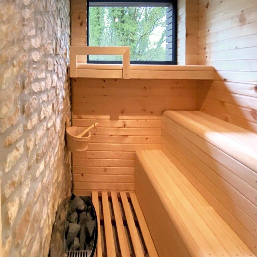 Sauna au Fermage près de Namur