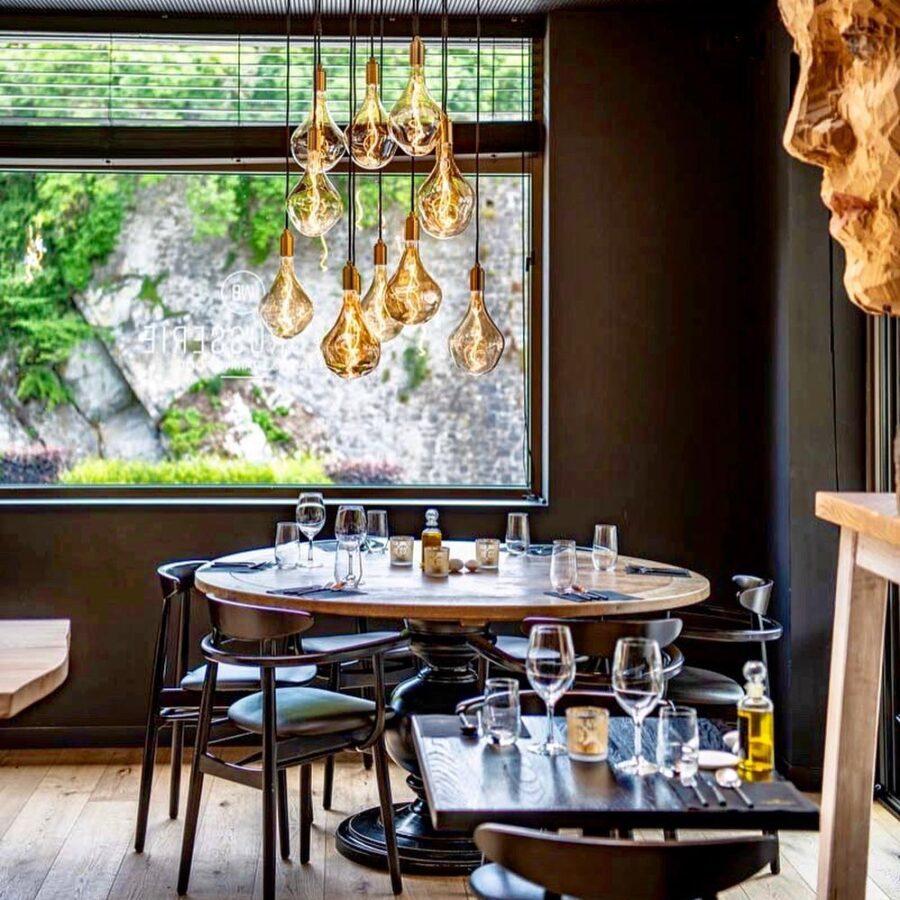 Côté restaurant au Sanglier des Ardennes à Durbuy