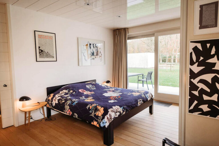 Chambre à coucher à la Maison Jazz à Bruges