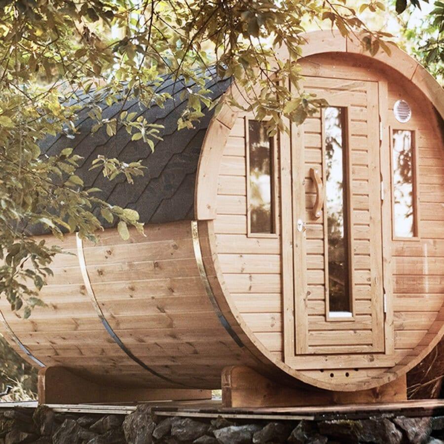 Sauna de Nature Bubble Feluy près de Charleroi