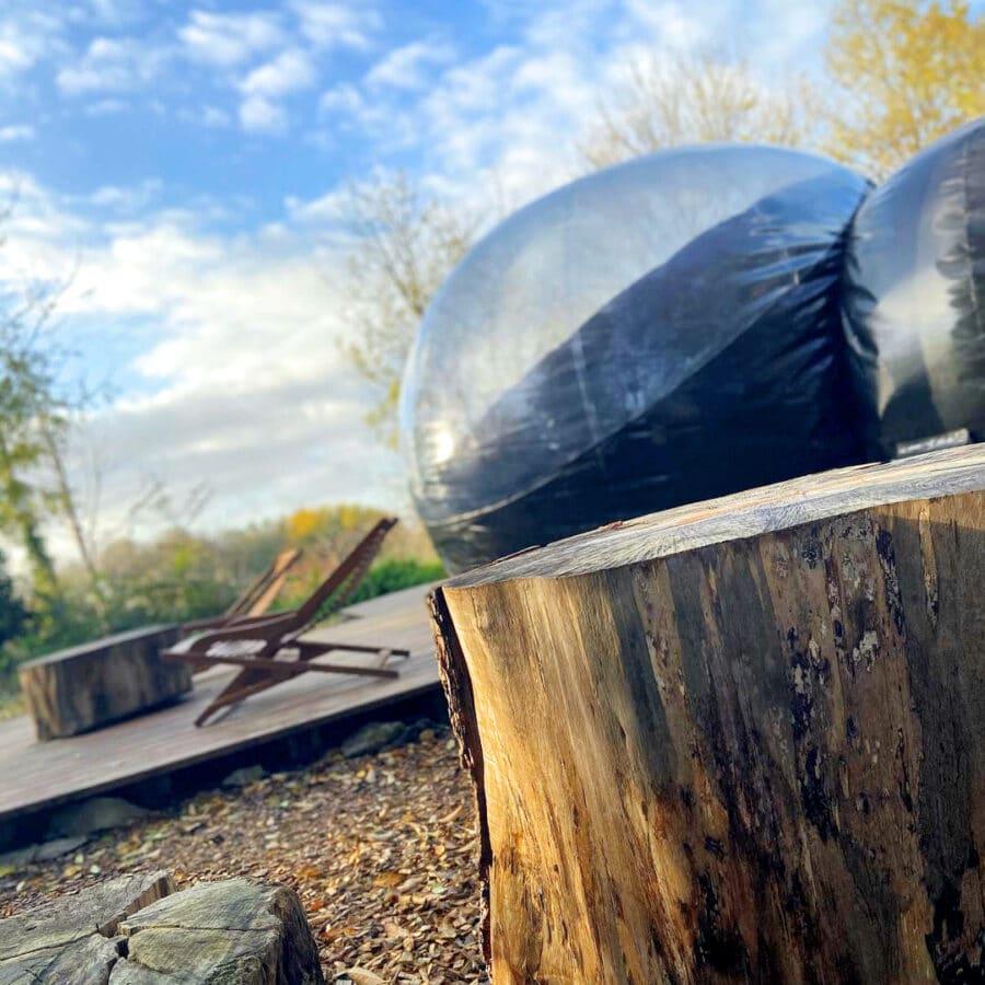 Nature Bubble Feluy près de Charleroi