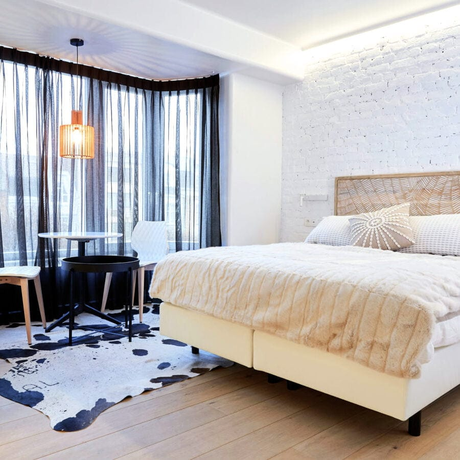 Chambre Hypnos de l'hôtel Oniro à Tournai