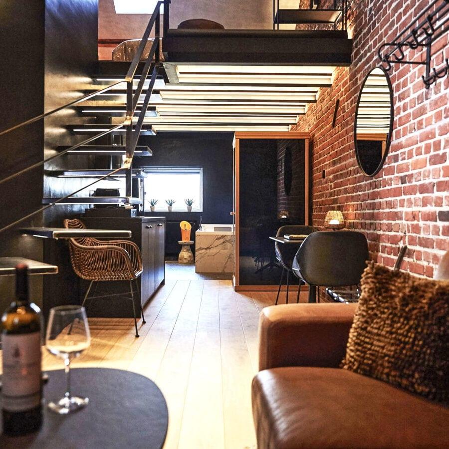 Suite Utopia de l'hôtel Oniro à Tournai