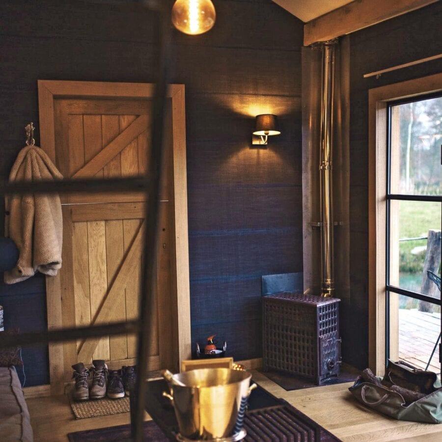 L'intérieur de la maison à The Forest près de Bruxelles