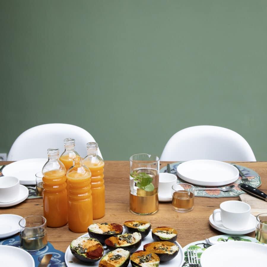Petit déjeuner à The Green House à Anvers
