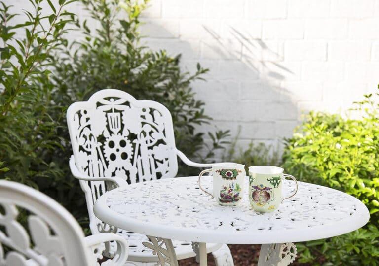 Table du jardin à The Green House à Anvers