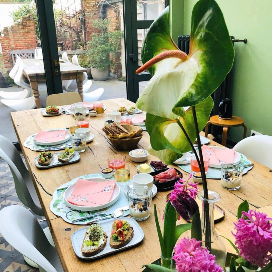 Déjeuner à The Green House à Anvers