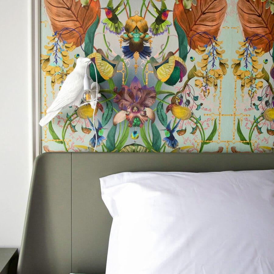 Tête de lit tropicale à The Green House à Anvers