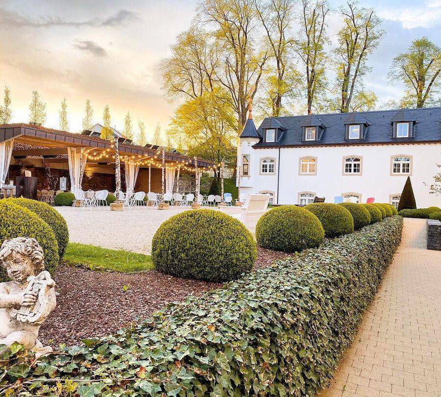 Jardin du Château d'Urspelt à Luxembourg