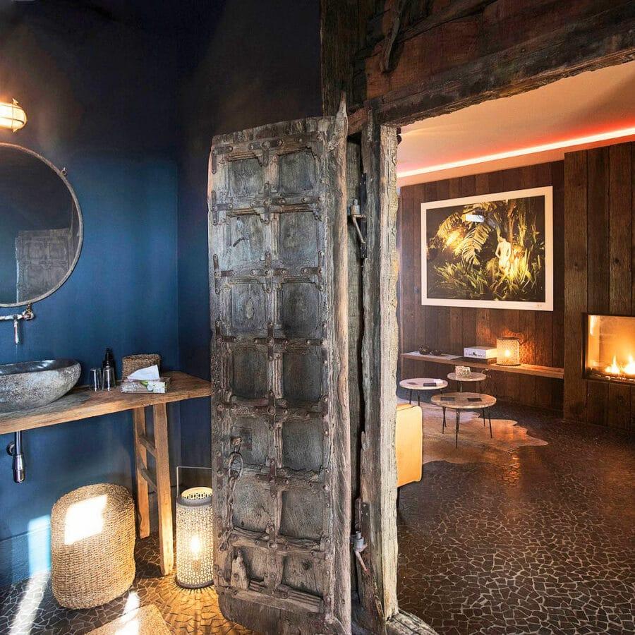 Salle de bain à Hoeve La Cascina à Gand