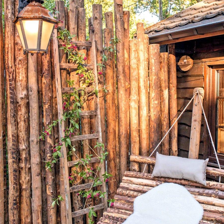 Transats au Wooden Nest à Durbuy