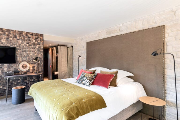 Chambre à coucher à la Villa d'Olne près de Spa