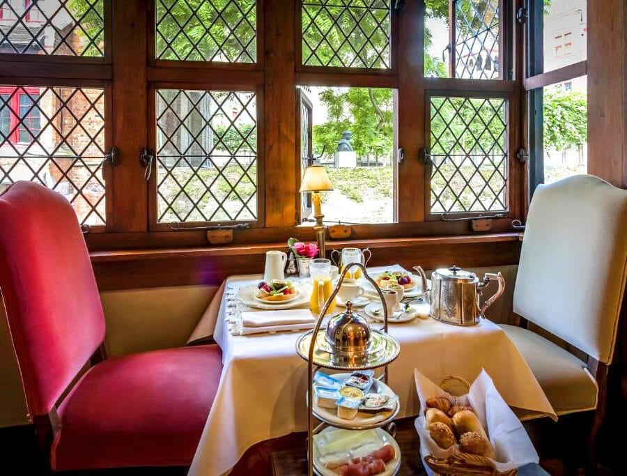 Petit déjeuner à l'hôtel Bonifacius à Bruges