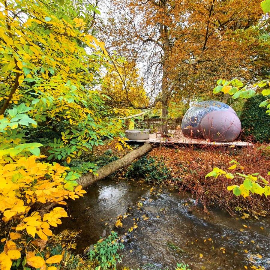 Domaine de la bulle au moulin des saules à Namur