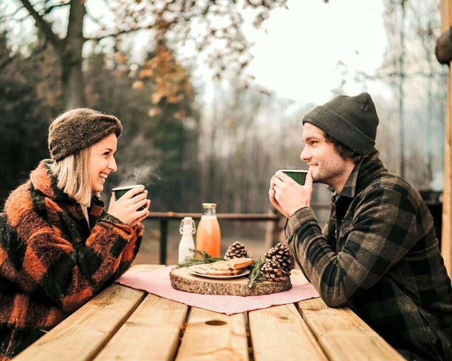 Déjeuner en amoureux à Écorces dans les Ardennes belges