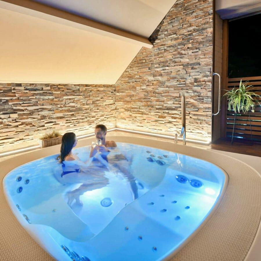 Moment détente à Octavie Aquasport Wellness Resort à Tournai