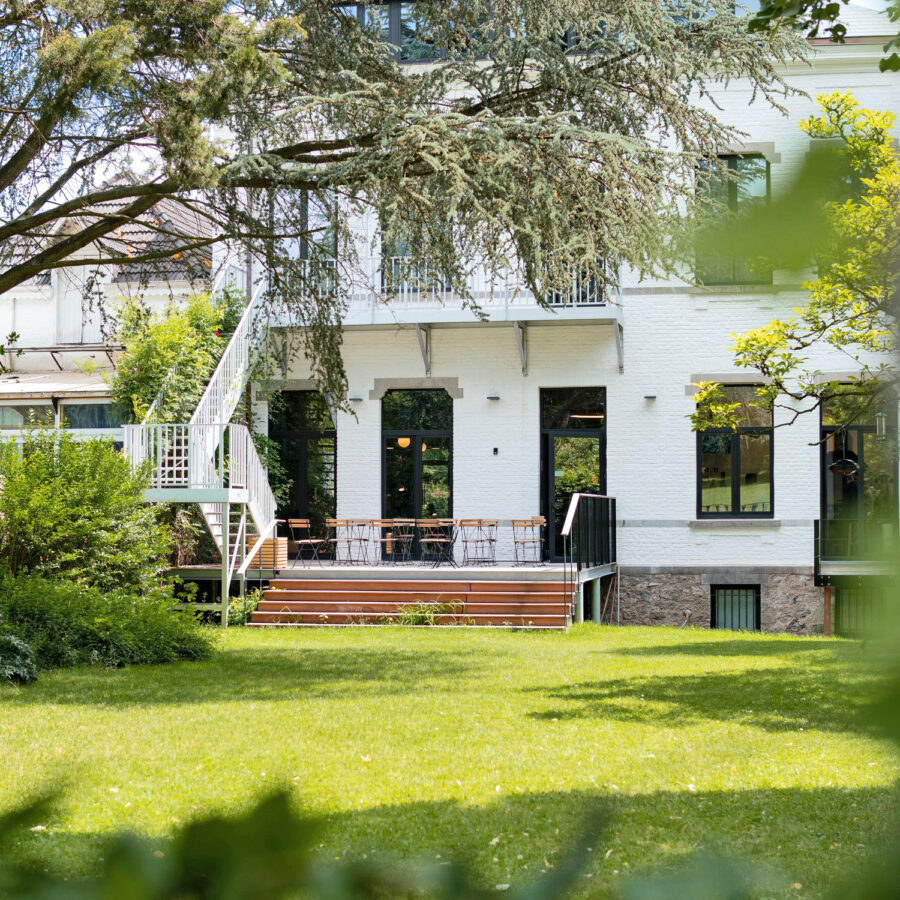 Jardin à l'hôtel Vedette à Namur