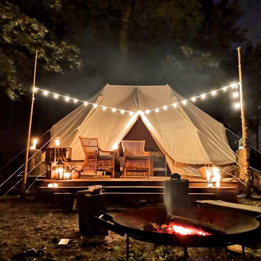 Tente cosy à Lakhota Glamping à Liège