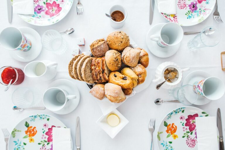 Petit déjeuner à Red & Breakfast à Liège