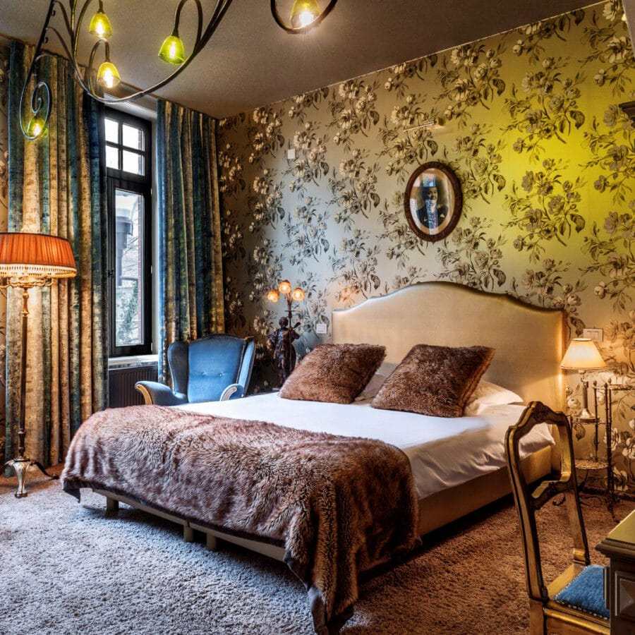 Chambre au Main Street Hotel à Ypres